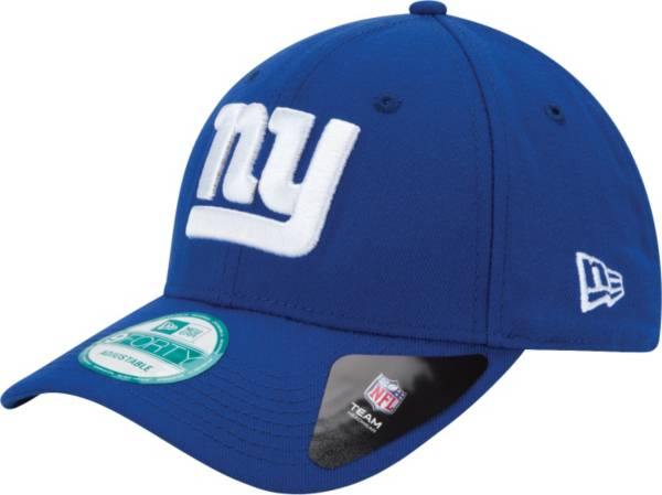 New Era Men's New York Giants League 9Forty Adjustable Blue Hat product image