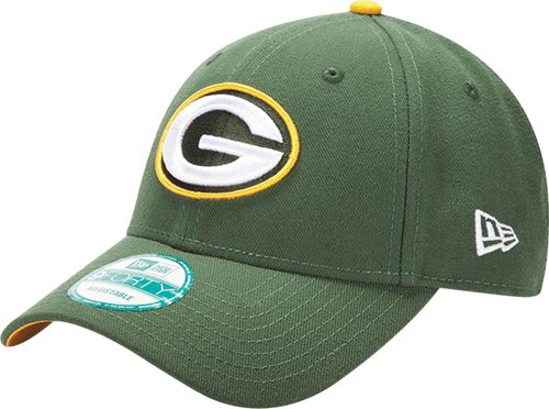 New Era Men s Green Bay Packers Green League 9Forty Adjustable Hat ... 54d2a059d