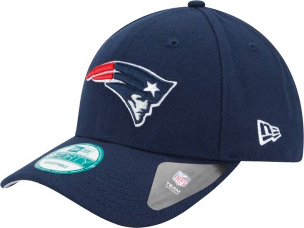 New Era Men's New England Patriots League 9Forty Adjustable Navy Hat product image