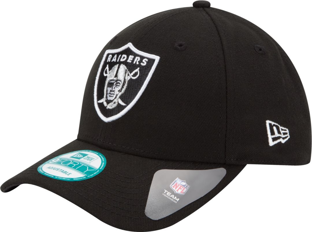 3f7177d8c507af New Era Men's Oakland Raiders League 9Forty Adjustable Black Hat.  noImageFound. Previous