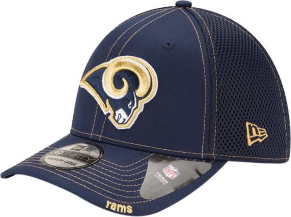 New Era Men's Los Angeles Rams 39Thirty Neoflex Navy Stretch Fit Hat product image