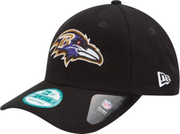 New Era Men's Baltimore Ravens League 9Forty Adjustable Black Hat product image