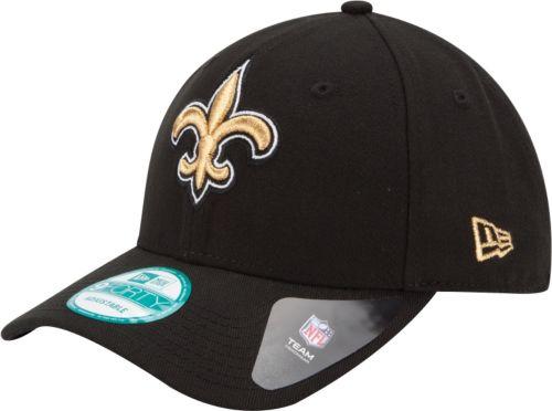 08ebe8fad18 New Era Men s New Orleans Saints League 9Forty Adjustable Black Hat.  noImageFound. Previous