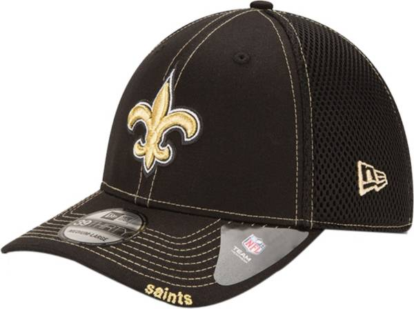 New Era Men's New Orleans Saints 39Thirty Neo Flex Black Hat product image