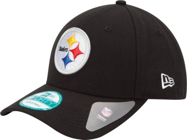 New Era Men's Pittsburgh Steelers League 9Forty Adjustable Black Hat product image