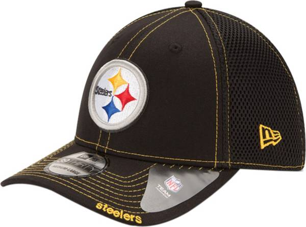 New Era Men's Pittsburgh Steelers 39Thirty Neo Flex Black Hat product image