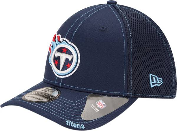 New Era Men's Tennessee Titans 39Thirty Neoflex Navy Stretch Fit Hat product image