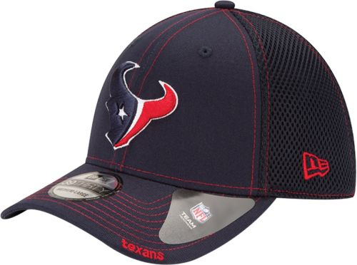New Era Men's Houston Texans Neo 39Thirty Navy Stretch Fit Hat  supplier