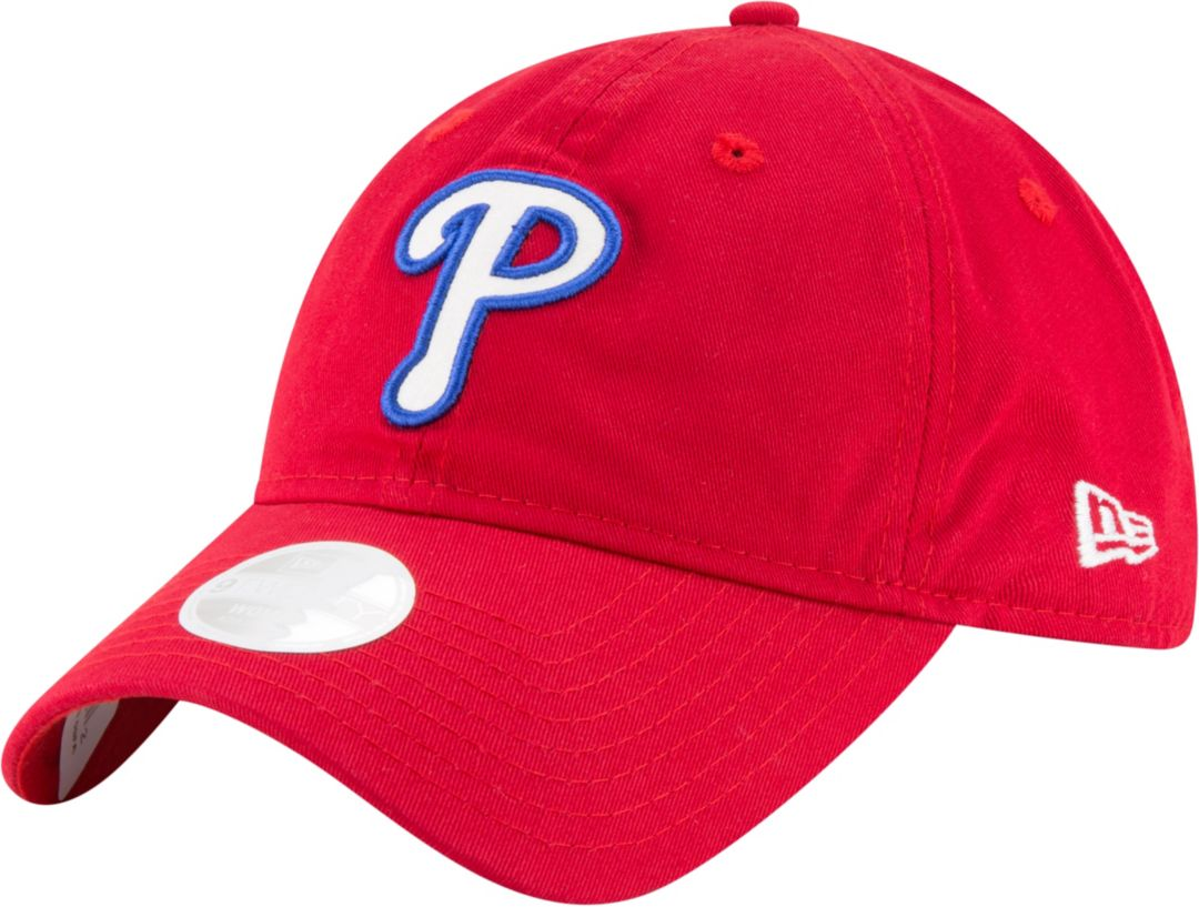 db2ef9b164c0fa New Era Women's Philadelphia Phillies 9Twenty Team Glisten Red Adjustable  Hat. noImageFound. Previous