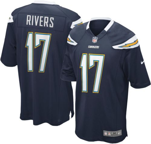 818b44a52 Nike Boys  Home Game Jersey Los Angeles Chargers Philip Rivers  17 ...