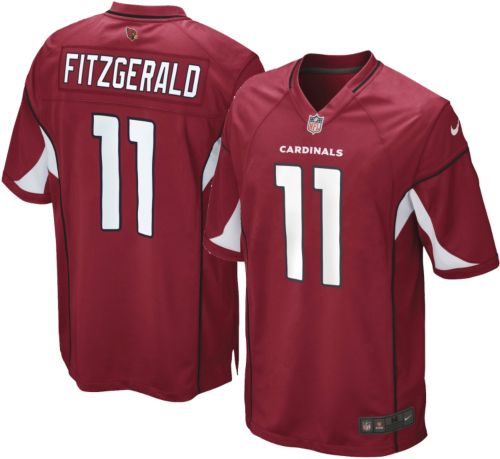 f522fe566896 Nike Boys  Home Game Jersey Arizona Cardinals Larry Fitzgerald  11 ...