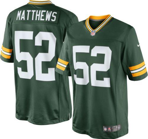 598576da6 Nike Boys' Home Game Jersey Green Bay Packers Clay Matthews #52.  noImageFound. Previous