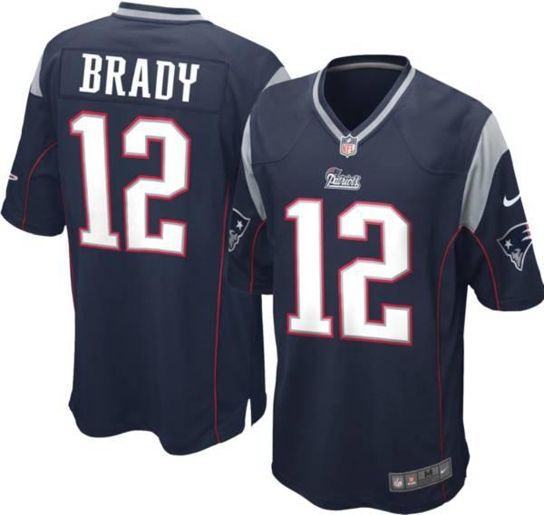 Nike Boys' Home Game Jersey New England Patriots Tom Brady #12 product image