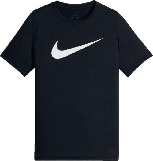 81242ad6 Nike Boys' Dry Legend Short Sleeve Shirt. noImageFound. Previous