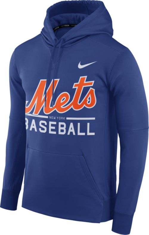 d912091bd Nike Men's New York Mets Dri-FIT Royal Therma Pullover Hoodie.  noImageFound. Previous