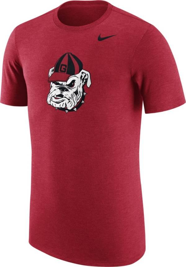 Nike Men's Georgia Bulldogs Heathered Red Vault Tri-Blend T-Shirt product image