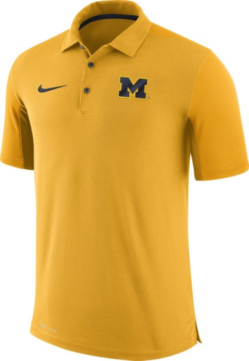 ce4f4a32cc8f Nike Men s Michigan Wolverines Maize Team Issue Football Sideline ...