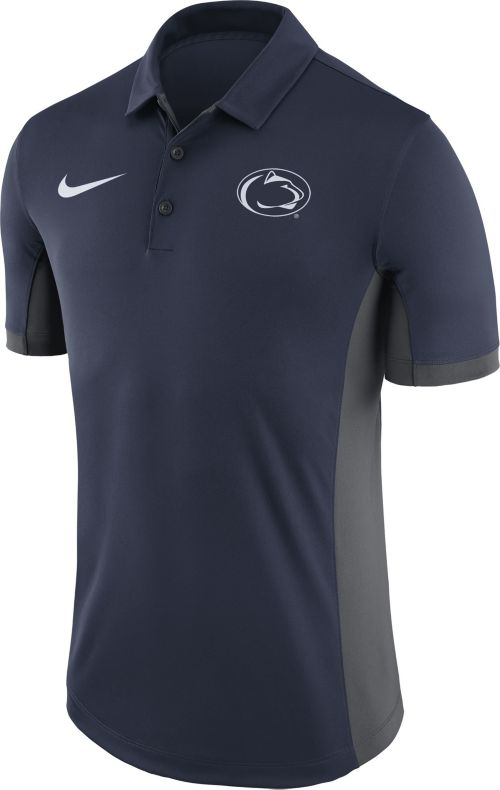 c66bc5e5589 Nike Men's Penn State Nittany Lions Blue Evergreen Performance Polo.  noImageFound. Previous