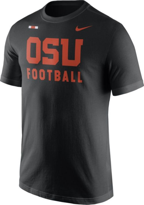 60e366a5 Nike Men's Oregon State Beavers Football Sideline Facility Black T-Shirt.  noImageFound. Previous