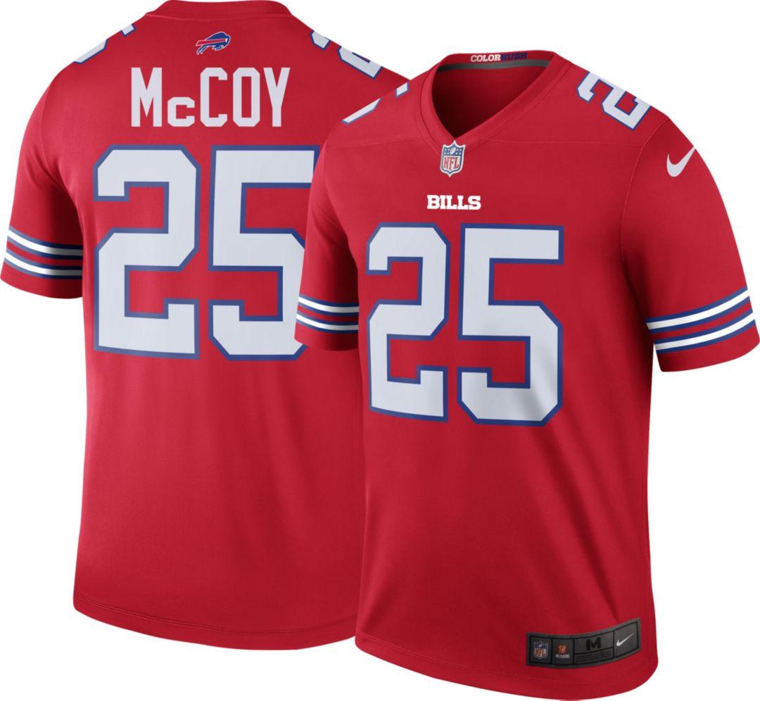 3795c62cdd226 Nike Men's Color Rush Legend Jersey Buffalo Bills LeSean McCoy #25