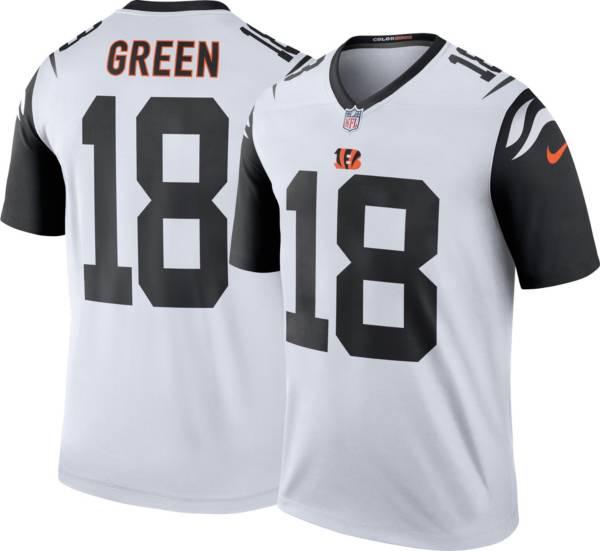 Nike Men's Cincinnati Bengals A.J. Green #18 White Legend Jersey