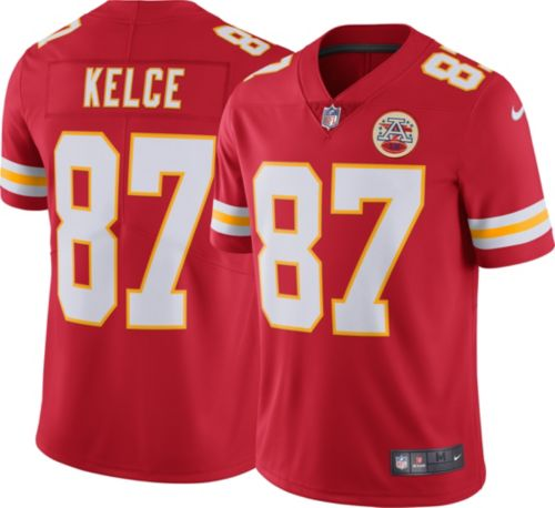 on sale 587fb fef09 wholesale travis kelce elite jersey nike kansas city chiefs ...