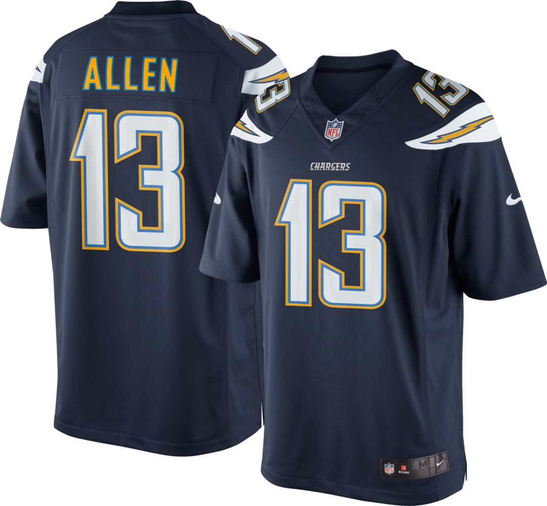 10b148e535a7d2 Nike Men's Home Limited Jersey Los Angeles Chargers Keenan Allen #13.  noImageFound. Previous