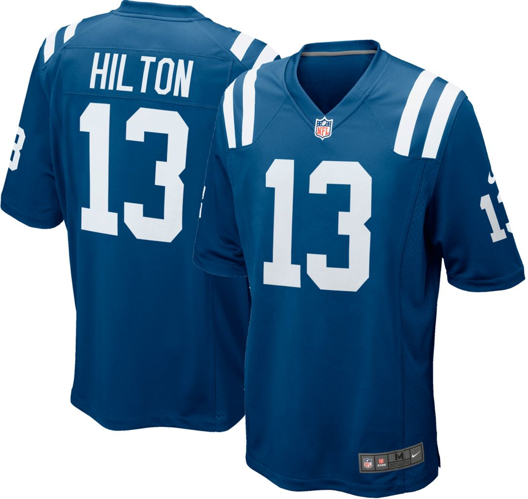 ffeebcf2 Nike Men's Home Game Jersey Indianapolis Colts T.Y. Hilton #13