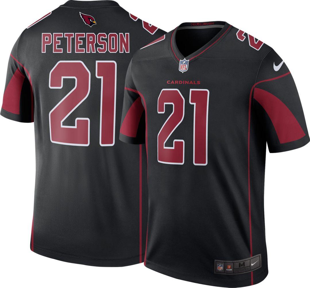 3d902df527d76 Nike Men's Color Rush Arizona Cardinals Patrick Peterson #21 Legend Jersey.  noImageFound. Previous