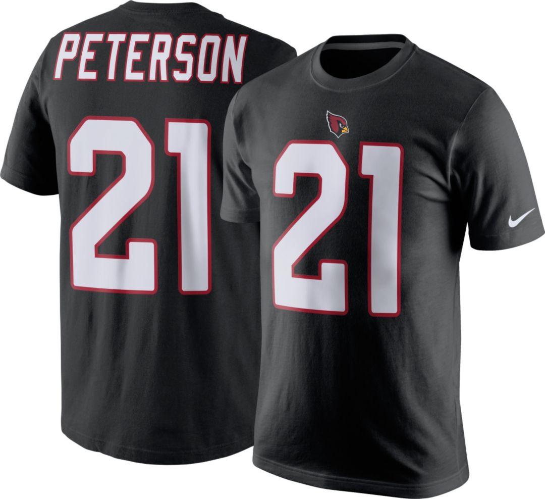 8a67d984f9a76 Nike Men's Arizona Cardinals Patrick Peterson #21 Pride Black T-Shirt.  noImageFound. Previous