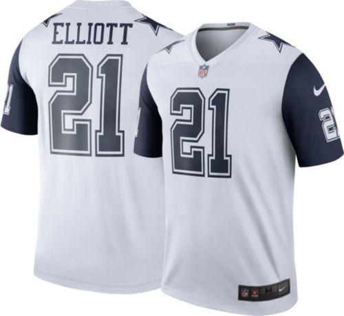 bb7ab95e51e4 Nike Men s Color Rush Dallas Cowboys Ezekiel Elliott  21 Legend Jersey.  noImageFound. Previous