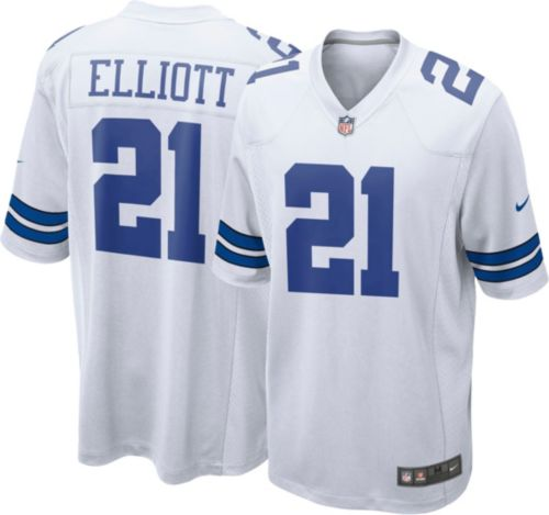 04a73e8e661 Nike Men's Game Jersey Dallas Cowboys Ezekiel Elliott #21 | DICK'S ...