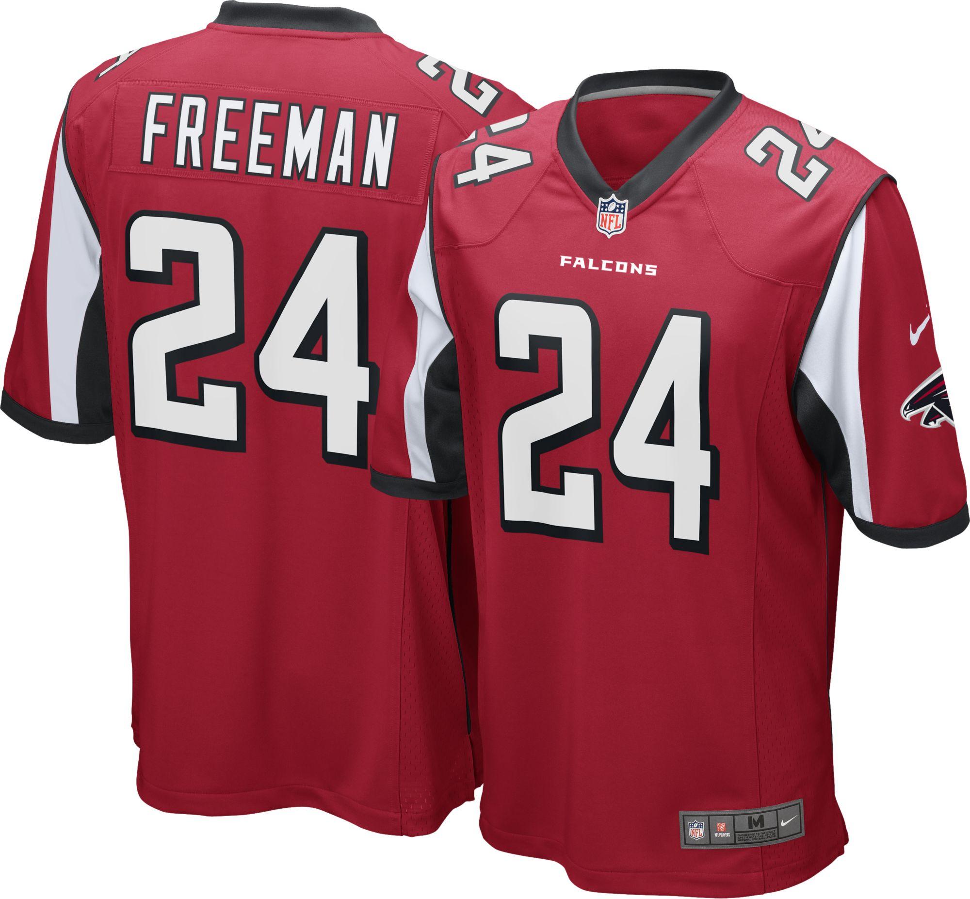 nike men s home game jersey atlanta falcons devonta freeman 24 rh dickssportinggoods com