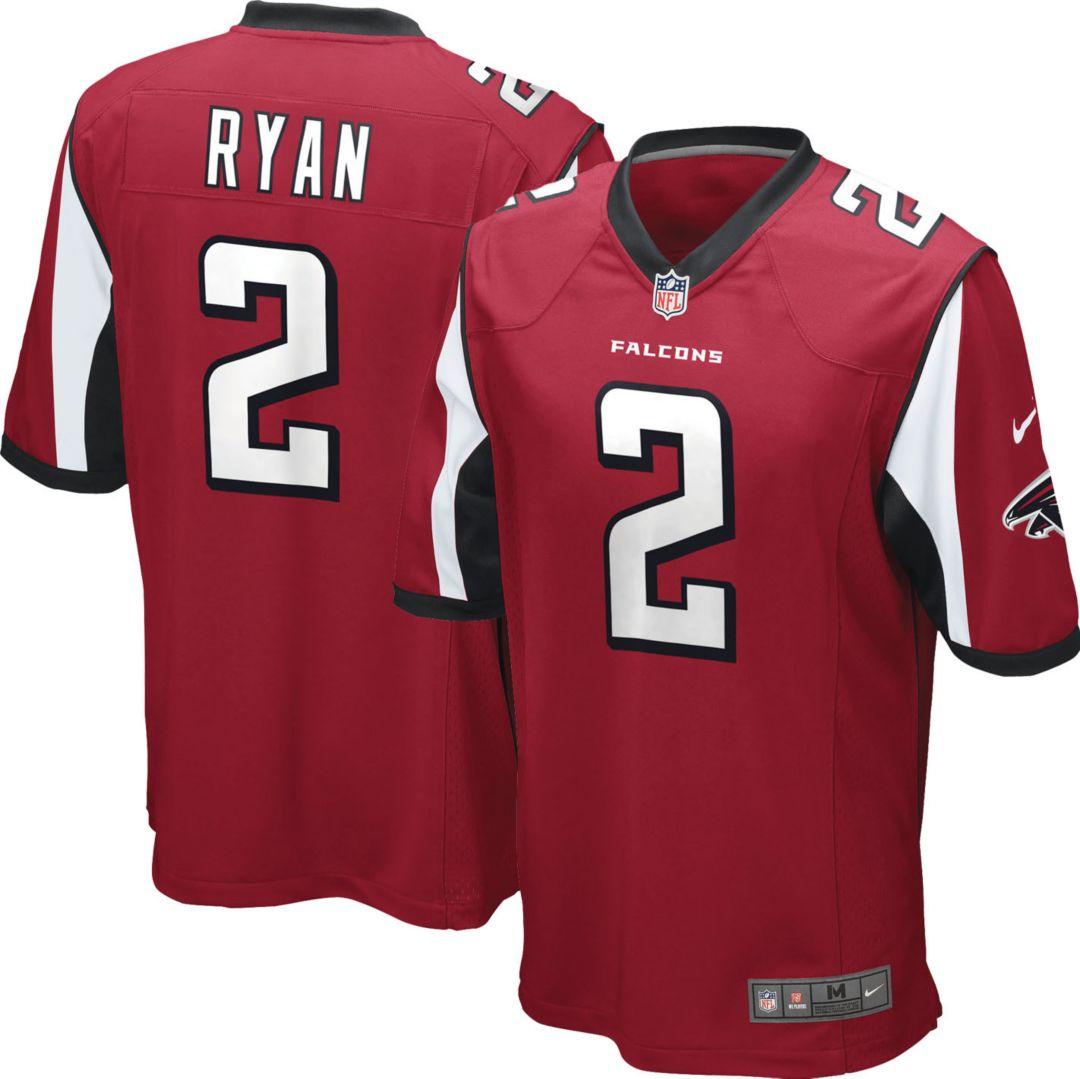 3bdc9ba4 Nike Men's Home Game Jersey Atlanta Falcons Matt Ryan #2