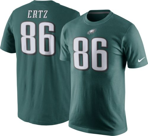 dfe178afdf5 Nike Men s Philadelphia Eagles Zach Ertz  86 Pride Green T-Shirt.  noImageFound. Previous