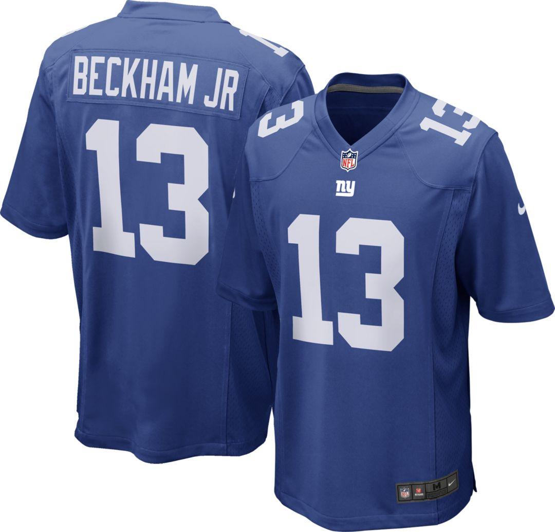 2706aac87 Nike Men's Home Game Jersey New York Giants Odell Beckham Jr. #13.  noImageFound. Previous