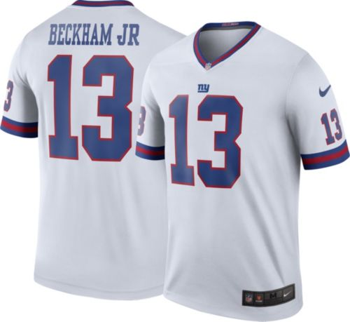 Nike Men s Color Rush New York Giants Odell Beckham Jr.  13 Legend ... 415831947