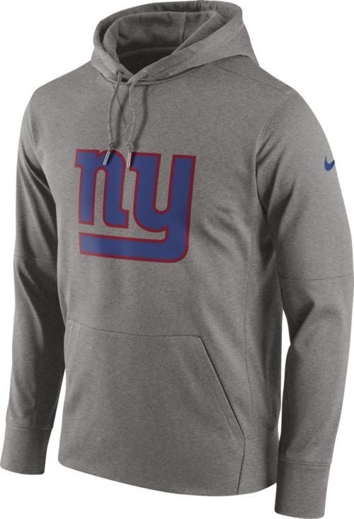 Nike Men s New York Giants Circuit Logo Grey Pullover Hoodie. noImageFound.  Previous c088226f3