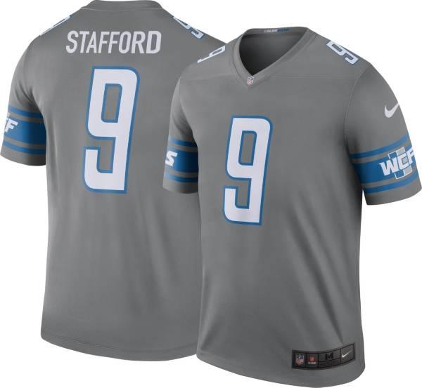 Nike Men's Color Rush Legend Jersey Detroit Lions Matthew Stafford #9 product image