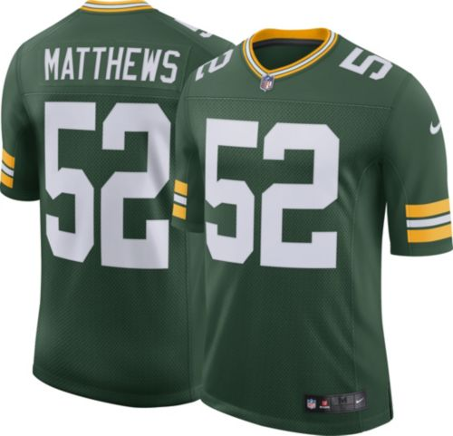 Nike Men s Home Limited Jersey Green Bay Packers Clay Matthews  52 ... a66eae2920cf