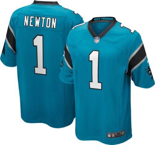 Hot Nike Men's Alternate Game Jersey Carolina Panthers Cam Newton #1  free shipping