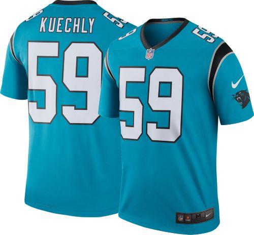 6ce4fc7aa Nike Men s Color Rush Carolina Panthers Luke Kuechly  59 Legend ...