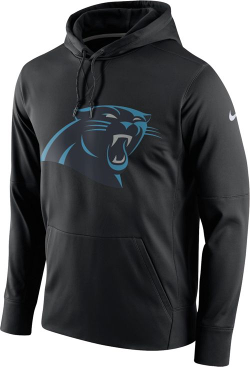91dddcdbc Nike Men s Carolina Panthers Performance Circuit Logo Essential Black Hoodie.  noImageFound. Previous