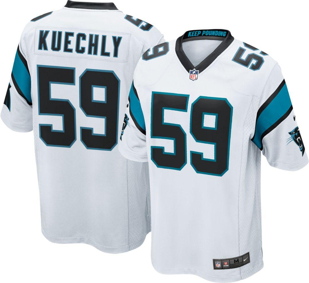 53d886ba Nike Men's Away Game Jersey Carolina Panthers Luke Kuechly #59.  noImageFound. Previous