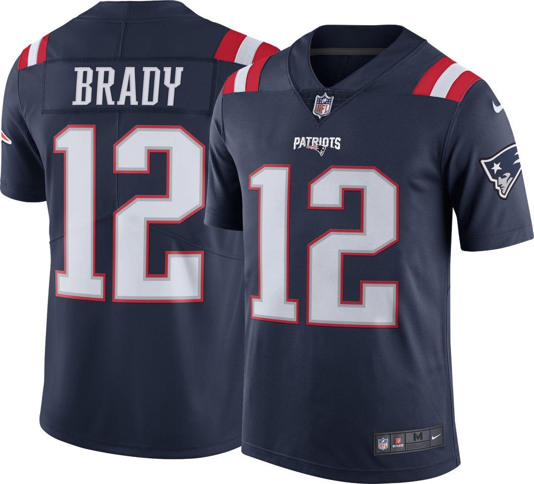 001cb36f Nike Men's Color Rush Limited Jersey New England Patriots Tom Brady #12.  noImageFound. Previous