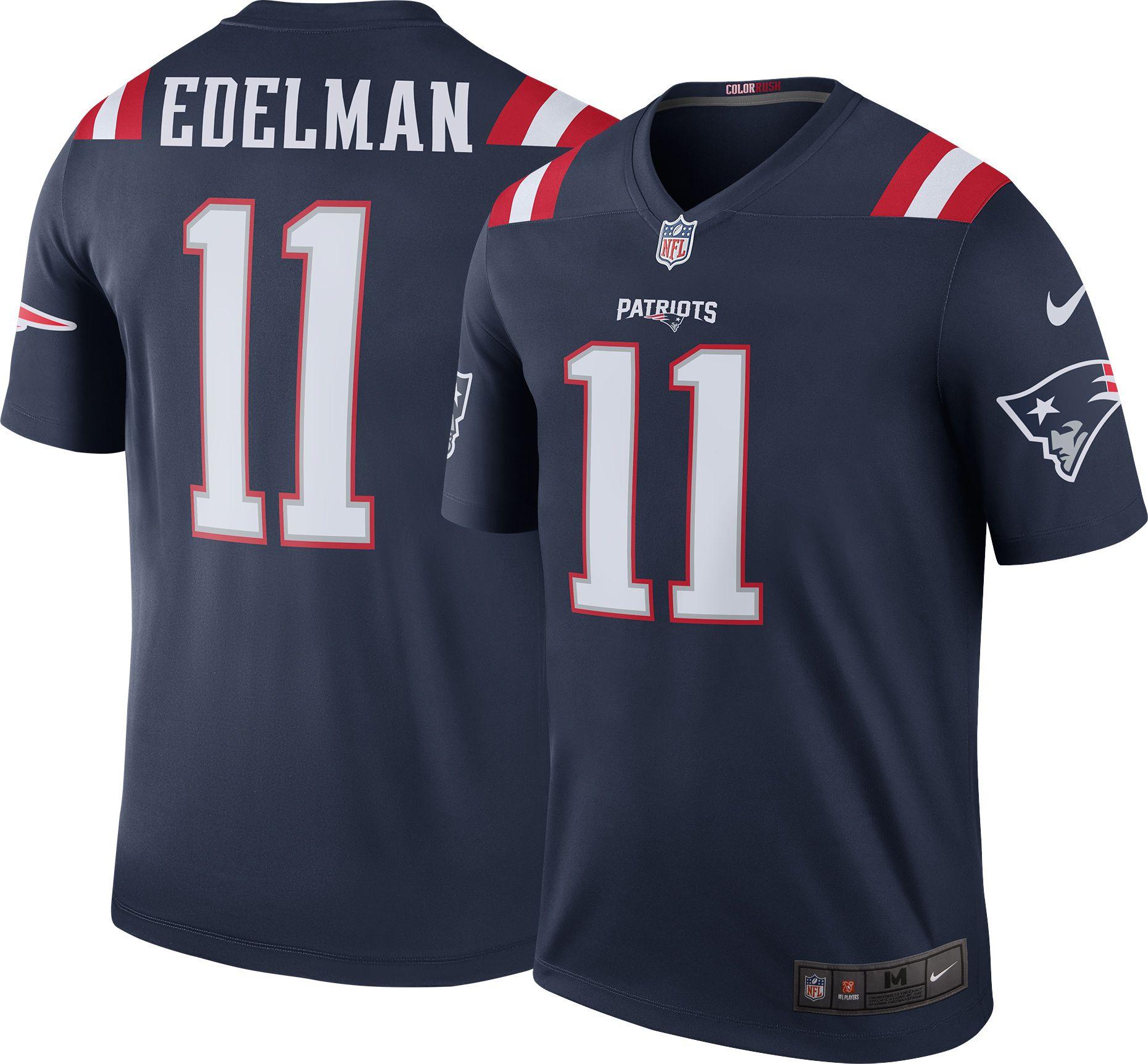 pretty nice 4bca4 24299 julian edelman authentic jersey