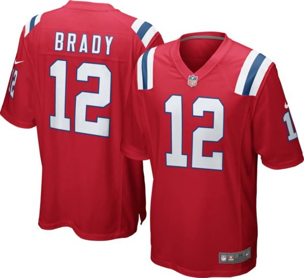 Nike Men's Alternate Game Jersey New England Patriots Tom Brady #12 product image