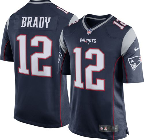 Nike Men s Home Game New England Patriots Tom Brady  12 Jersey.  noImageFound. Previous e1f584b37ea71