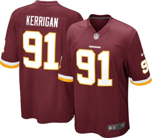 1620532c42e Nike Men's Home Game Jersey Washington Redskins Ryan Kerrigan #91 ...