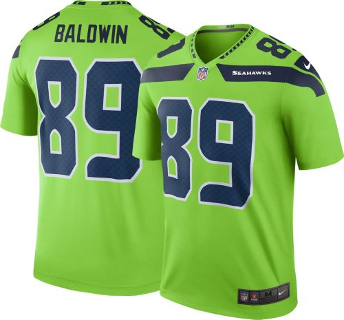 e180d0259b0 Nike Men's Color Rush Seattle Seahawks Doug Baldwin #89 Legend Jersey.  noImageFound. Previous